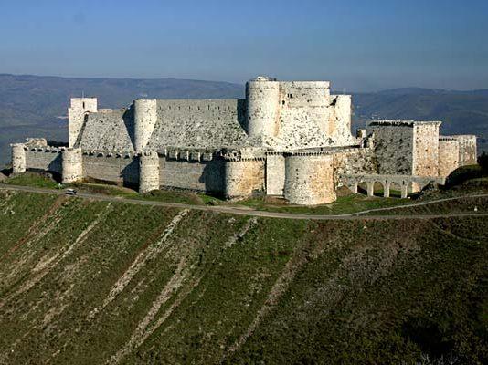 قلعة الأكراد، جبال اللاذقية