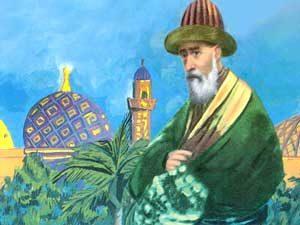 عبد القادر الجيلاني - صورة تخيلية