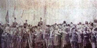 ابراهيم باشا الملي مع السلطان عبد الحميد