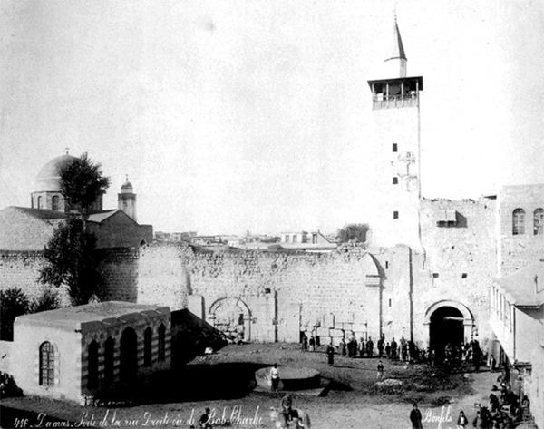 الباب الشرقي لمدينة دمشق - ويكيميديا