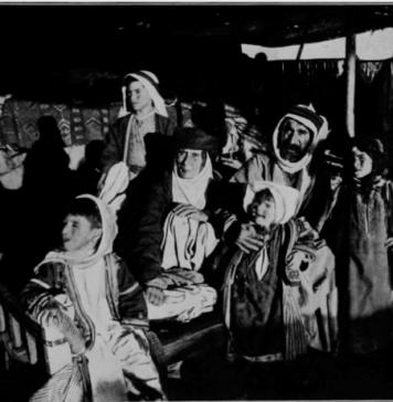 الصورة 6: الخاتون خنسة مع ابنها محمود بك شيخ قبيلة الملان