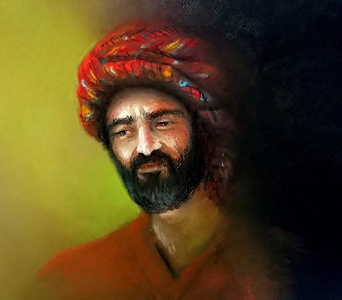 بريشة الفنان التشكيلي محمد شاهين
