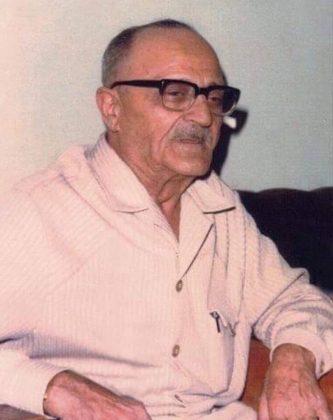 أوسمان صبري بعد خروجه من سجن القلعة 1973