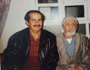 أوسمان صبري مع صهره شيخ محمد برمجة