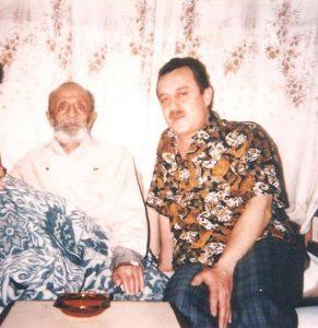 أوسمان صبري مع ابنه هوشنك 1993/3/24